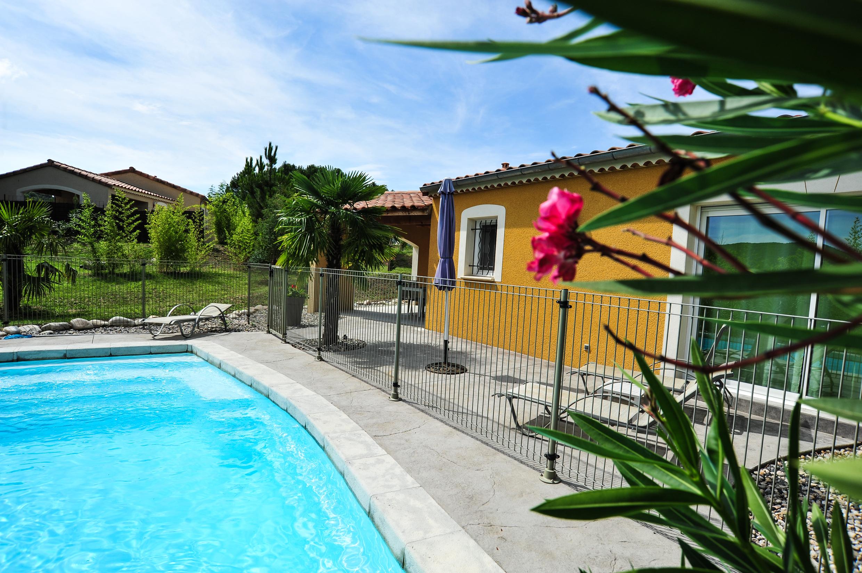 Villa avec piscine à Sampzon en Ardèche